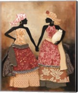 Village Women I Fine-Art Print