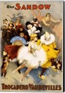 The Sandow Trocadero Vaudevilles, Performing Arts Poster, 1894 Fine-Art Print
