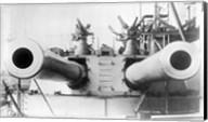 HMS Dreadnought Guns LOCBain Fine-Art Print