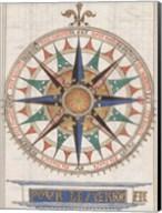 Guillaume Brouscon Compass France, 1543 Fine-Art Print
