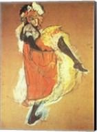 Henri de Toulouse-Lautrec Can-Can Jane Avril Fine-Art Print