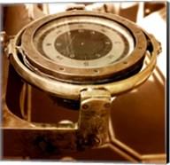 HMS Belfast - Admiral's Bridge Compass Fine-Art Print