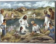 Baptism at River's Edge Fine-Art Print
