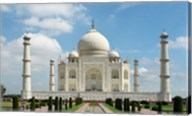 Taj Mahal, Agra, India With Green Trees Fine-Art Print