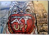 Act Up - Berlin Wall Fine-Art Print