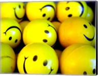 Smiley Face Balls Fine-Art Print