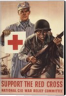 Support the Red Cross Fine-Art Print