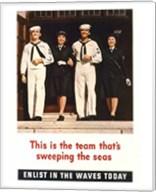 Team Sweeping the Seas Fine-Art Print