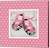 Wild Child Ballet Slippers Fine-Art Print