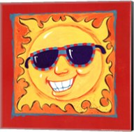 Smiley Sun Fine-Art Print