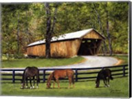 Old Covered Bridge Fine-Art Print