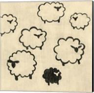 Best Friends- Sheep Fine-Art Print