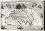 1700 Cellarius Map of Asia, Europe and Africa Fine-Art Print