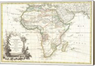 1762 Janvier Map of Africa Fine-Art Print