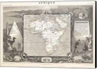 1847 Levasseur Map of Africa Fine-Art Print