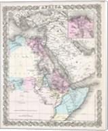 1855 Colton Map of Northeastern Africa Fine-Art Print
