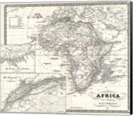 1855 Spruner Map of Africa Since the Beginning of the 15th Century Fine-Art Print