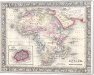 1864 Mitchell Map of Africa Fine-Art Print