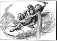 Aquarius Drawing Fine-Art Print