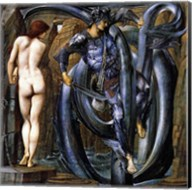 Perseus Slays the Serpent Fine-Art Print