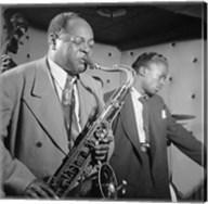 Coleman Hawkins, Miles Davis Fine-Art Print