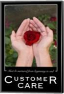 Customer Care Affirmation Poster, USAF Fine-Art Print