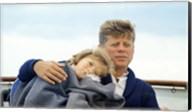 Hyannisport Weekend Caroline Kennedy, President Kennedy Fine-Art Print