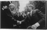 JFK Khrushchev Handshake 1961 Fine-Art Print