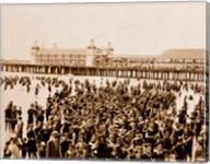 Crowd at Atlantic City 1910 Fine-Art Print