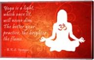 Yoga Quote Fine-Art Print