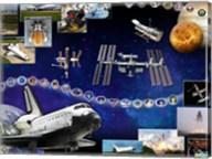 Space Shuttle Atlantis Tribute Fine-Art Print