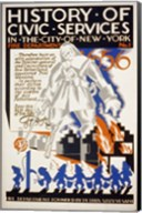 History of Civic Services in the NYC Fire Department 1731 Fine-Art Print