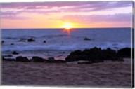 Keawakapu Beach Sunset Long Exposure Fine-Art Print