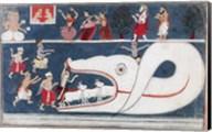 Krishna Kills Aghasura Fine-Art Print