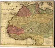 Map of Africa 1742 Fine-Art Print