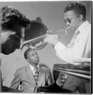 Miles Davis, Howard McGhee, September 1947 Fine-Art Print