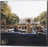 Parade, Union Station to Blair House, President Kennedy Fine-Art Print