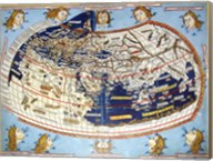 Ptolemaic Map Fine-Art Print