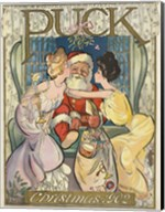 Santa 1902 Puck Cover Fine-Art Print