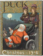 Santa 1904 Puck Cover Fine-Art Print