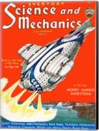 Science and Mechanics Nov 1931 Cover Fine-Art Print