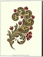 Jacobean Leaf II Fine-Art Print