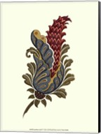 Jacobean Leaf IV Fine-Art Print