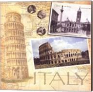 Travel Scrapbook I Fine-Art Print