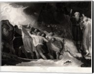 George Romney - William Shakespeare - The Tempest Act I, Scene 1 Fine-Art Print