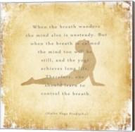 When the Breath Wanders Fine-Art Print