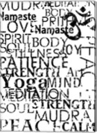 Yoga Words Fine-Art Print