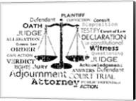 Legal Words Fine-Art Print