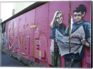 Torn Newspaper Berlin Wall Fine-Art Print