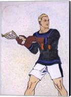 Collier Lacrosse Fine-Art Print